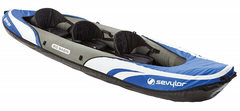 Sevylor Big Basin 3 Person Kayak